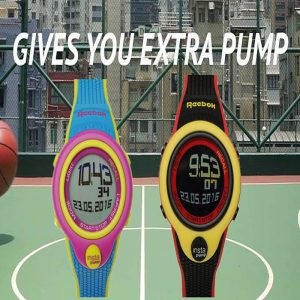 REEBOK INSTA PUMP CHORONOGRAPH SPORTS WATCH – BLUE