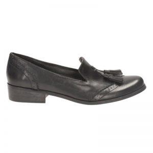 Clark Shoe 'Anchor' black leather, Size 4