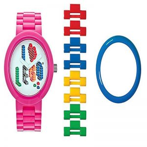 I LOVE LEGO WATCH – PINK