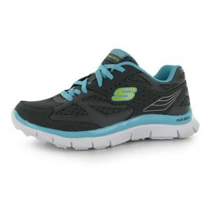 SKECHERS APPEAL ALI CHD61 CHARCOAL/BLUE SIZE UK C9.5 (EURO 27)