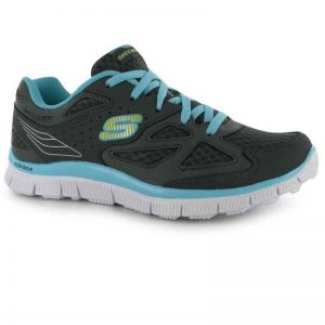 SKECHERS APPEAL ALI CHD61 CHARCOAL/BLUE SIZE UK C1.5(EURO 34)