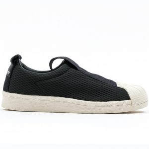 ADIDAS Superstar BW35 Slipon BY9137 Black – UK6.5