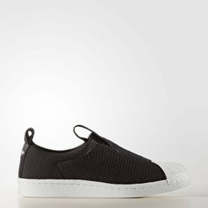 ADIDAS Superstar BW Slip-On Shoes BY9140 Black – UK6