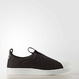ADIDAS Superstar BW Slip-On Shoes BY9140 Black – UK6