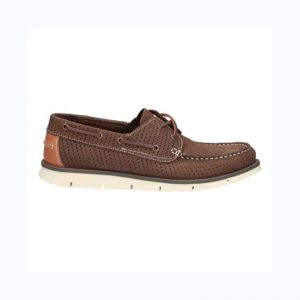 CLARKS Dehort Sun Leather Brown UK8