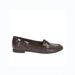 CLARKS Atomic Lady Chocolate Snake – UK5