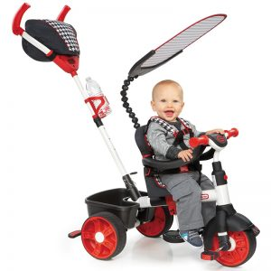 LITTLE TIKES 4-IN-1 Sports Edition (Red/White)