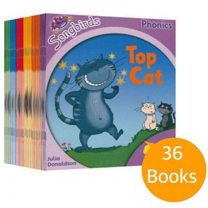 SONGBIRDS Phonics Collection – 36 books