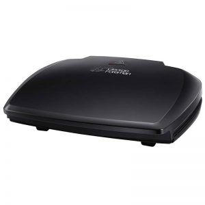 GEORGE FOREMAN Entertaining 10-Portion Grill – Black