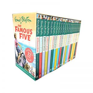 ENID BLYTON The Famous Five Collection – 22 Books