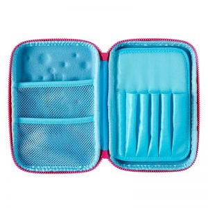 SMIGGLE Bubble Hardtop Pencil Case – Blue