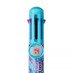 SMIGGLE Stylin Graphic Rainbow Pen – Blue