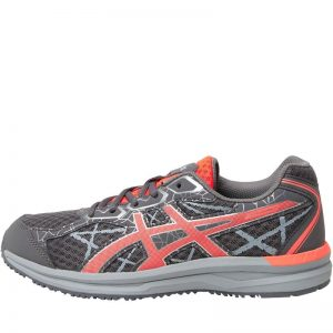 ASICS Womens Endurant Light Trail Running Shoes Carbon/Flash Coral/Silver – SIZE UK5