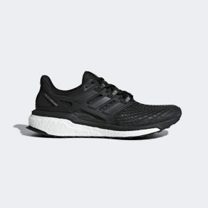 ADIDAS Energy Boost Ladies Running Shoes Colour Black/White Size 8 (42)