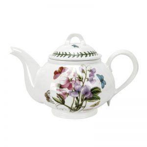 PORTMEIRION Botanic Garden Seconds Teapot 2pt Romantic Shape