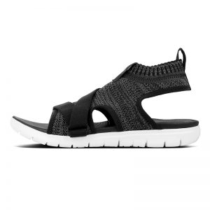 FITFLOP ÜBERKNIT Back-Strap Sandals Black/Soft Grey UK 5 / EU 38
