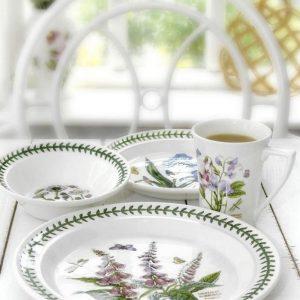 PORTMEIRION Botanic Garden Seconds Side Plate Set of 6 No Guarantee of Flower Design
