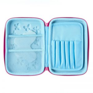 SMIGGLE Mirror Hardtop Pencil Case Blue