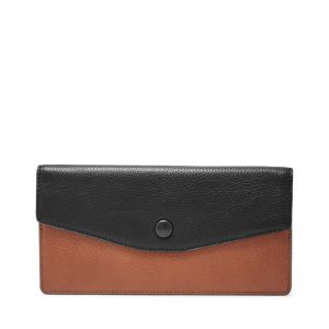 FOSSIL Laney Clutch Black Brown