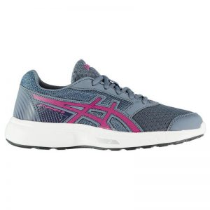 ASICS Gel Stormer 2 Running Shoes Ladies Colour Blue/Purple Size 5 (38)