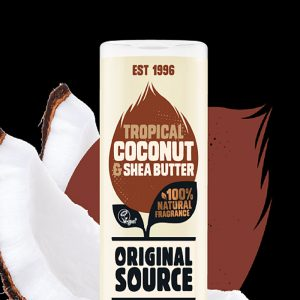 ORIGINAL SOURCE Tropical Coconut and Shea Butter 500ml