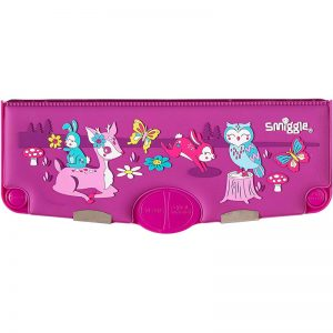SMIGGLE Party Silicone Scented Pop Out Pencil Case – Purple