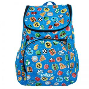 SMIGGLE Says Access Backpack Blue