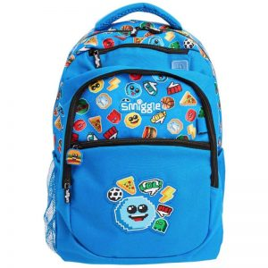 SMIGGLE Says Backpack Mid Blue
