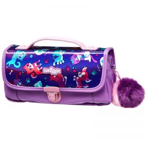 SMIGGLE Envy Handbag Pencil Case Colour – Purple