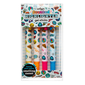 SMIGGLE Gel Stick Highlighter Pack X4