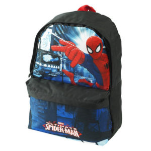 MARVEL Ultimate Spiderman Black School Backpack