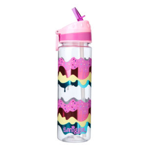 SMIGGLE Faves Drink Bottle Pink