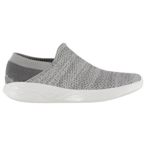 SKECHERS YOU Slip On Ladies Trainers – Charcoal UK3