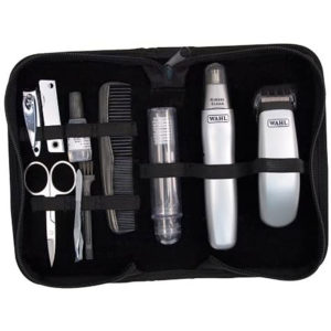 WAHL Grooming Mens Trimmer and Travel Set Pouch