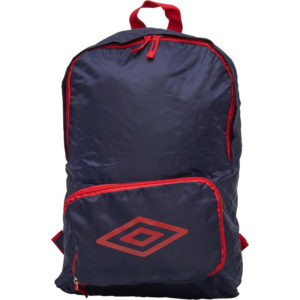 UMBRO Packaway Diamond Logo Backpack Blue – Navy/Red