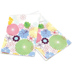 PORTMEIRION Pimpernal Crazy Daisy Tea Towel
