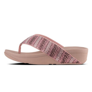 FITFLOP STROBE Toe-Thongs Dusky Pink UK 5 / EU 38
