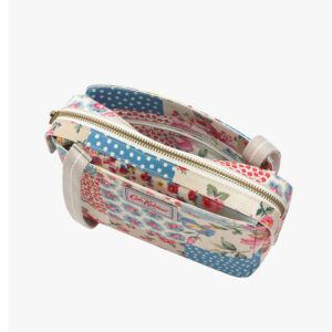 CATH KIDSTON Cottage Patchwork Mini Multi Pocket Bag