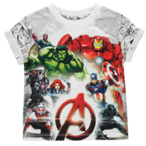 MARVEL Avengers Character Tee inB00 – Size 7-8 yrs