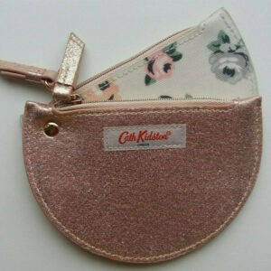 CATH KIDSTON Double Half Moon Purse Solid – Rose Gold