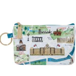 HARRODS Map Coin Purse
