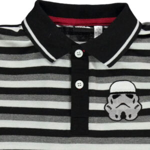 STAR WARS Character Polo Tee InB83 Black – Size UK 7-8