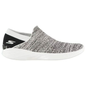 SKECHERS YOU Slip On Ladies Trainers Colour White/Black Size UK3 (36)