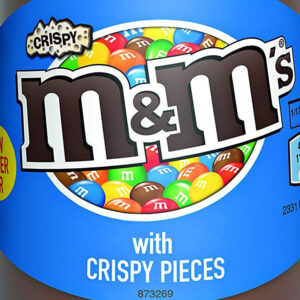 M and M's Chocolate Spread with Crispy Pieces  350G