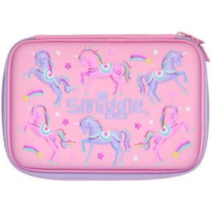 SMIGGLE Imagine Hardtop Pencil Case Colour : Pink