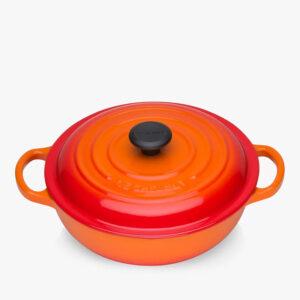 LE CREUSET Marmite Casserole Cast Iron Soup Pot 22cm – Volcanic