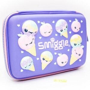 SMIGGLE Imagine Hardtop Pencil Case Colour : Purple