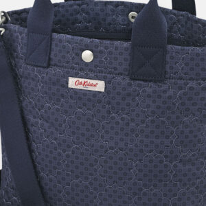 CATH KIDSTON Small Tote Cross Body Bag – Navy