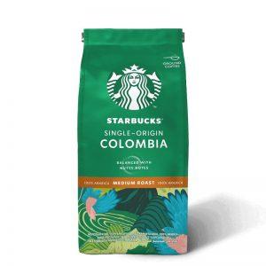 STARBUCKS Single Origin Colombia Medium Roast Ground Coffee 200g