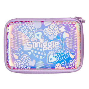 SMIGGLE Pencil Case Hard Top Shimmy – Lilac